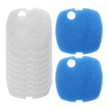 Filtre daquarium pour SUNSUN   Livraison directe 10 pièces, tampons filtrantes daquarium pour SUNSUN/505A cartouche filtrante