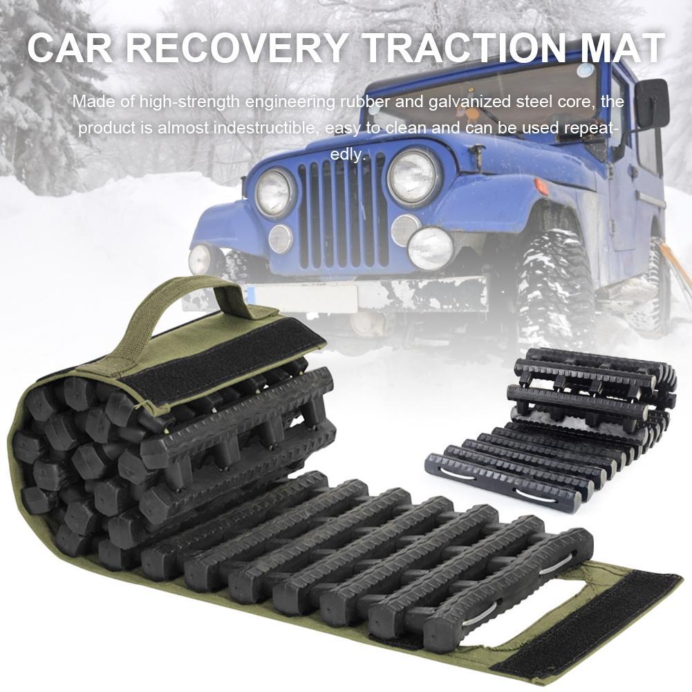 Универсальный автомобильный сцепление треки тяговый коврик для восстановления тяговый коврик портативный аварийный трек шина лестница дл...