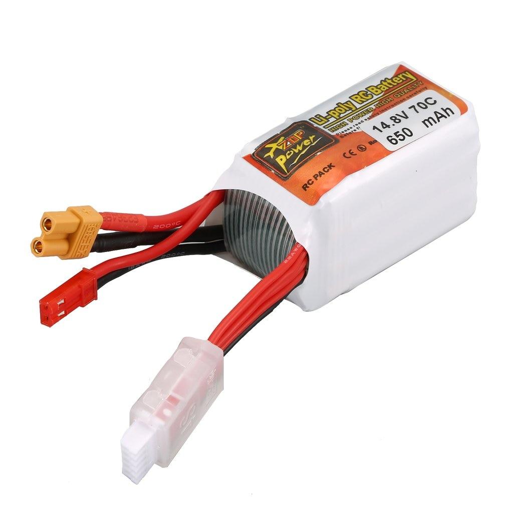Zop power 650 mah 11.1 v/14.8 v 70c 3 s/4S xt30 plug lipo bateria recarregável para rc racing rc drone helicóptero rc carro barco