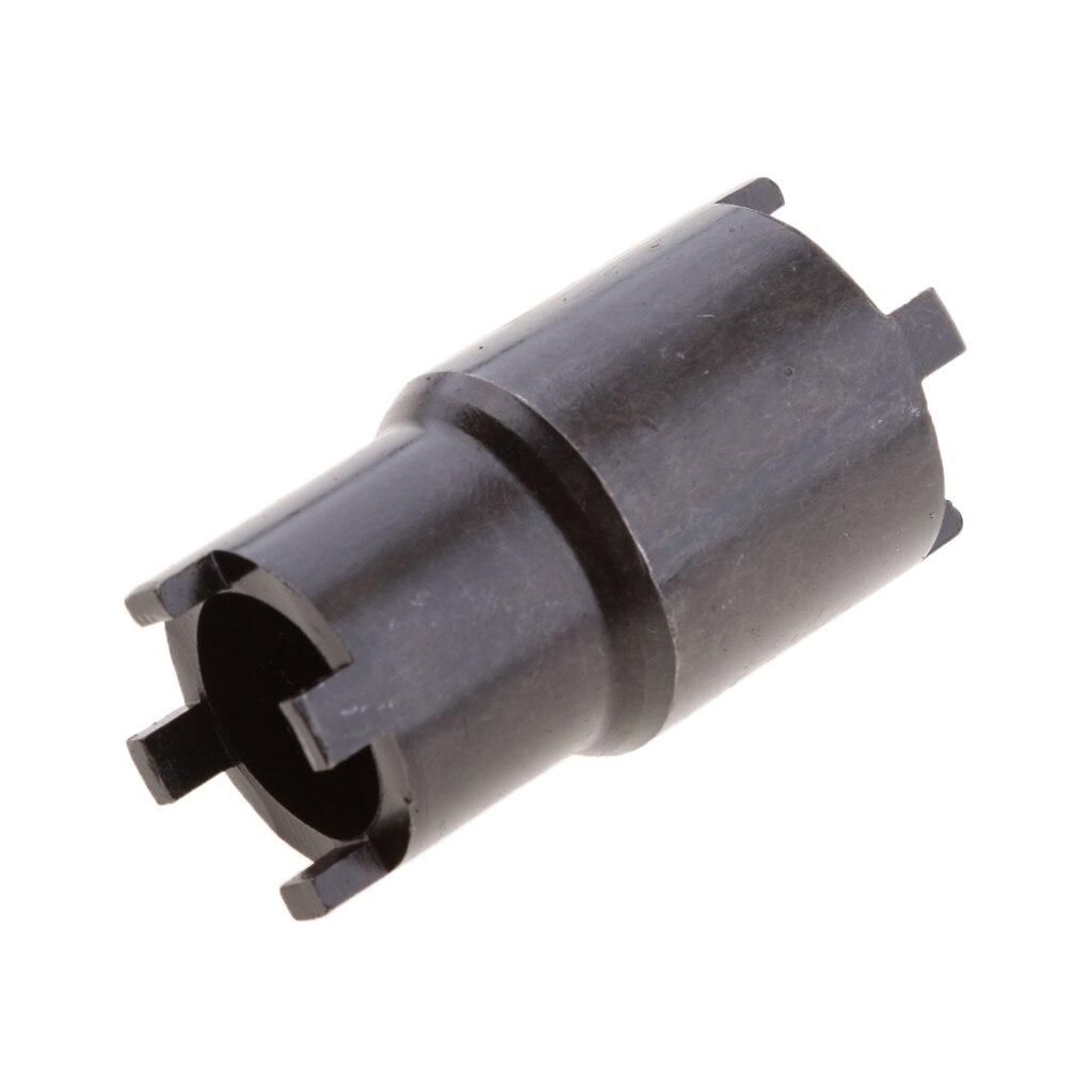 20mm 24mm Castillo tuerca Motor montaje de bloqueo tuerca 4 pin llave de enchufe herramienta para 03-17 NINJA ZX6 ZX6R zx6cr ZX-6