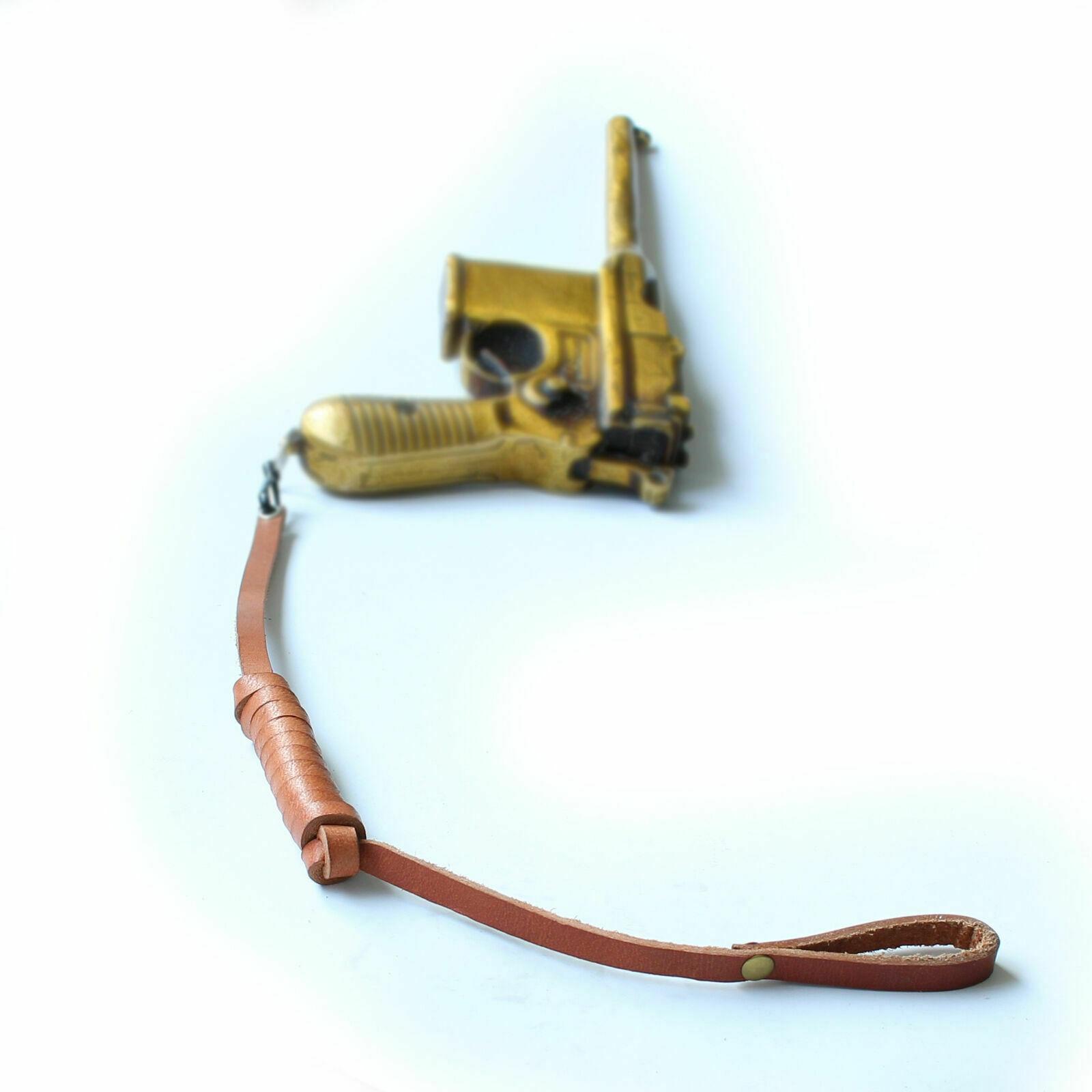 Tomwang2012. Militar ww2 alemão mauser c96 pulseira de couro reencenações
