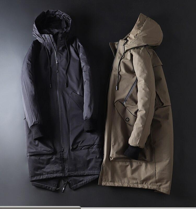 ¡Invierno 2019. Chaqueta a la moda para hombre y ropa de calle...