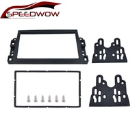 SPEEDWOW Car 2 Din Panel Radio Fascia Frame Stereo DVD Player Install Trim Panel Kit For Chevrolet Aveo Lova Captiva Gentra