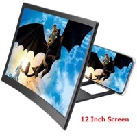 1214 inch smartphone 3d screen video magnifier curved enlarged phone movie amplifying projector stand bracket phone amplifier