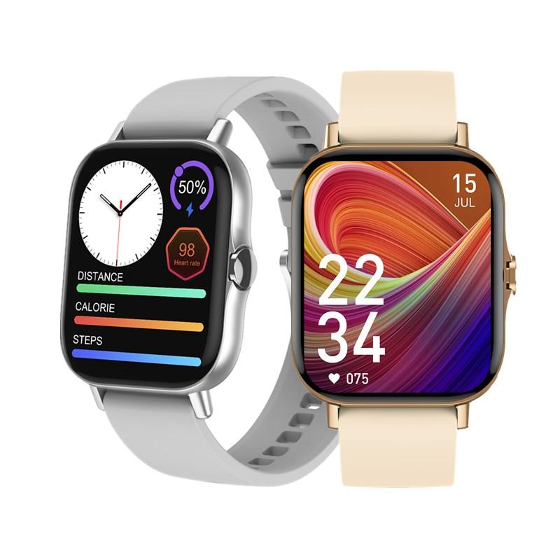 ساعة متصلة للرجال والنساء ، شاشة كبيرة 2021 بوصة ، دقة عالية ، مشغل موسيقى ، اتصال مخصص ، بلوتوث ، مكالمة ، 1.78