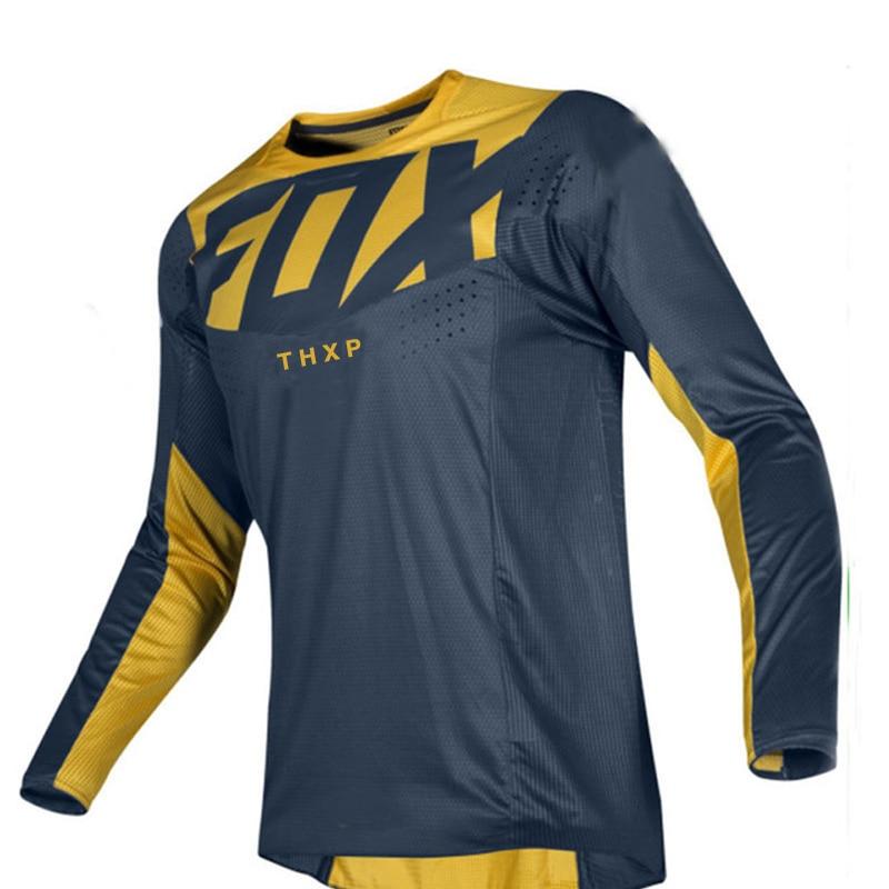 bicicleta-de-montana-de-jersey-para-descensos-cruz-pais-jersey-fox-mtb-dh-thxp-jersey-transpirable-2021-nuevo-equipo-personalizacion