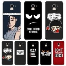 Zitate Telefon Fall Für Samsung Galaxy J4 J6 J8 Plus Silikon Zurück Abdeckung Für Samsung Galaxy J2 J5 J7 Prime j3 J5 J7 2015 2016 2017