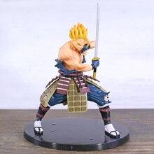 Dragon Ball Z Samurai Super Saiyan Gohan PVC figura de colección Figurals modelo de juguete