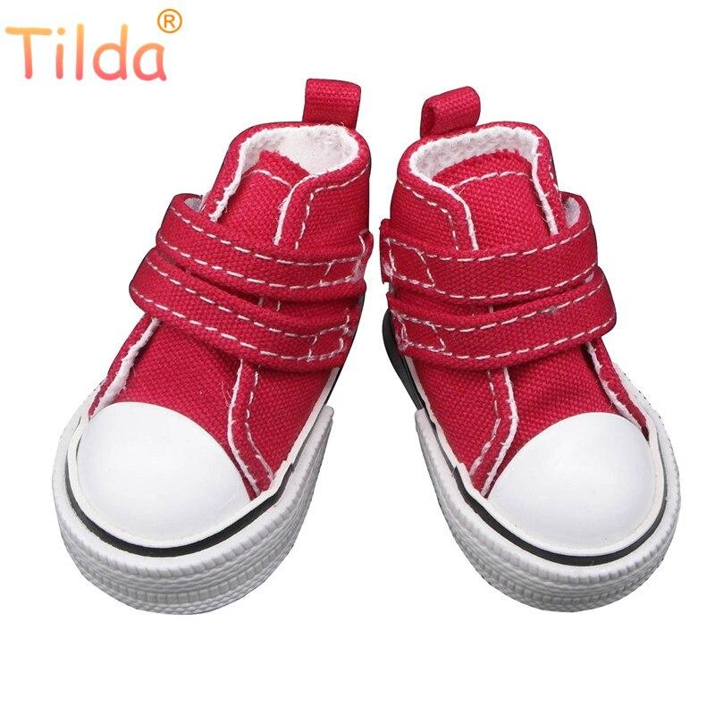 Модная обувь Tilda для кукол Paola Reina, парусиновая спортивная обувь для Corolle, 1/4 обувь для кукол bjd, спортивные кроссовки для кукол