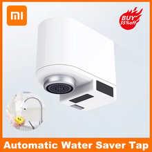 Оригинальный смеситель Xiaomi с умным инфракрасным датчиком, автоматический смеситель с функцией водосбережения и защитой от перелива, смеси...