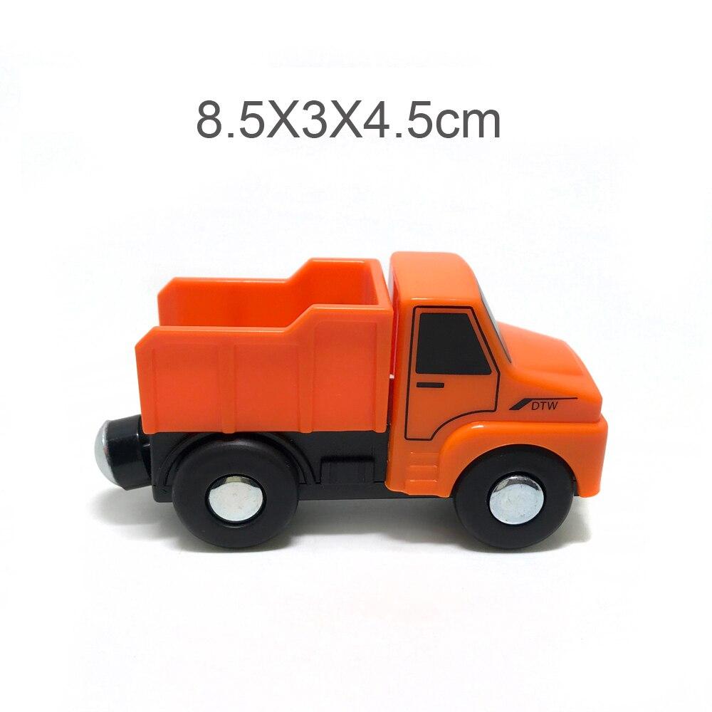 Camión de ingeniería para Tmas coche pista escena coche compatible con Tmas BIRO pista de Madera Juguetes educativos para niños