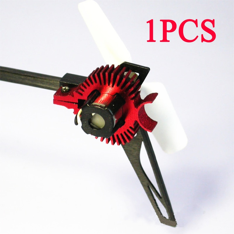 Radiador de Motor trasero Wltoys, piezas modificadas, piezas de anillo de refrigeración de Metal para K110 V977 RC, accesorios de aviones 1 Uds.