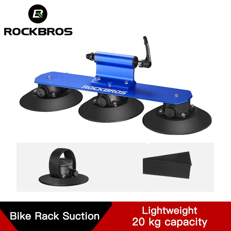 ROCKBROS быстроустанавливаемая стойка для крыши велосипеда, стойка для велосипеда, присоска на крышу, Автомобильная стойка для велосипеда, акс...