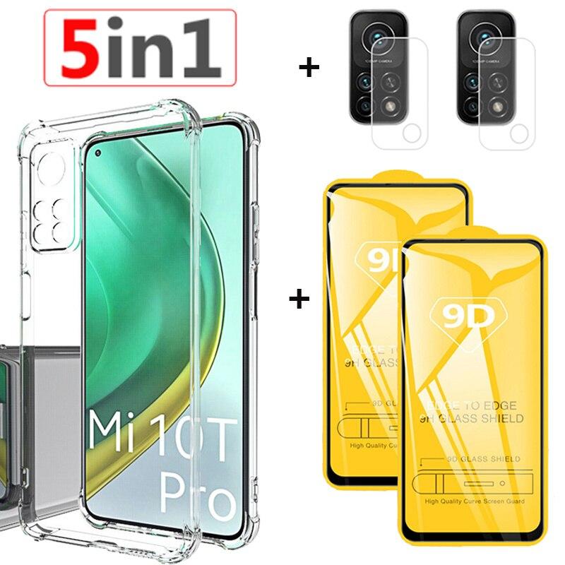 чехол на Xiaomi Mi 10T Pro 5G Прозрачный чехол на Xiaomi Mi 10 11 T Lite Pro teléfono móvil resistente Mi 10T Lite Силиконовый чехол Mi 11T half wrapped cases mi 10 t pro 5g case для ми 11 т чехлы кси...