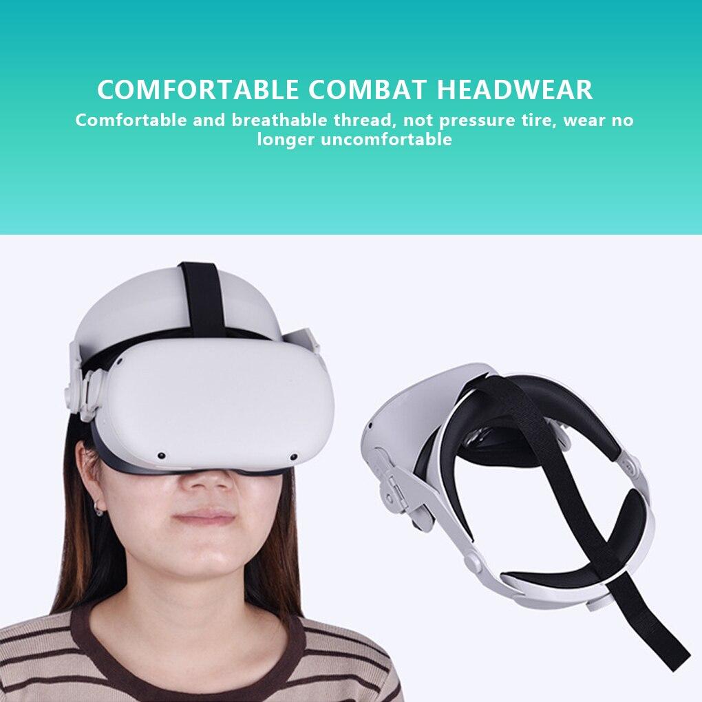 Adjustable For Oculus Quest 2 Halo Strap for Oculus Quest 2 Elite Strap 100% Fit Head Comfortable VR Headset Accessories enlarge