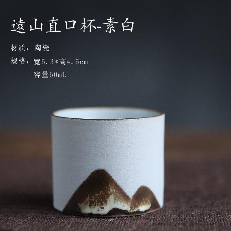 طاولة الشاي الصينية خمر السيراميك الأسود حديقة المنزل فنجان الشاي اليدوية الخزف كوبك دو هرباتي المطبخ الطعام بار DL60CB