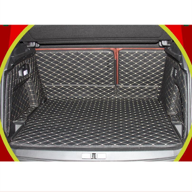 for citroen c4 aircross c5 luxury fiber leather car trunk mat cargo liner 2012 2013 2014 2015 2016 2017 2018 2019 2020