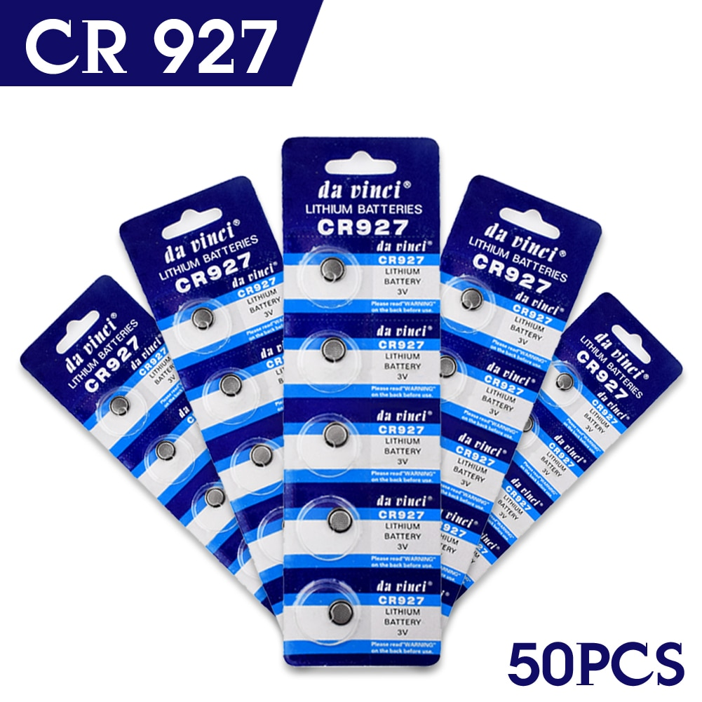YCDC Новая акция оптовая продажа 50 шт 3 в литиевые кнопки/монеты батареи CR927 927 DL927 BR927 ECR927 5011LC