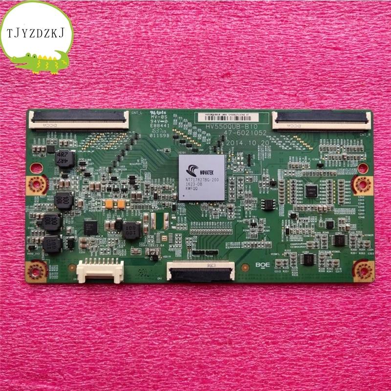 Original para Samsung UN55HU6840FXZA t-con BOARD HV550QUB-B10 47-6021038 = 47-6021052 BN96-34102A placa lógica UE55JU6000K 55HU6008J
