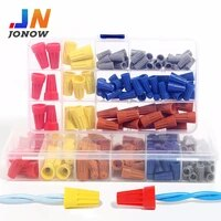 screw cap assortment kit screw on splice wire cable wspriing insert connection terminal faston plastic connector accessories