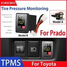 Car Electronics OBD TPMS For Toyota Prado 2008-2015 2016 2017 Tyre Pressure Monitor Security Alarm S