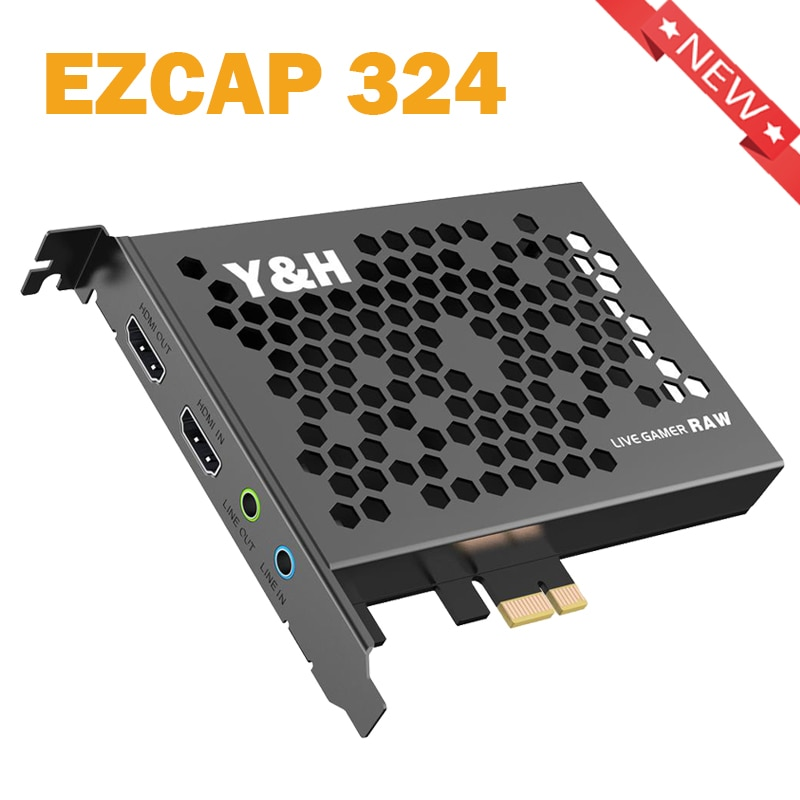 PCI-E بطاقة فيديو عالية الدقة HDMI-متوافق بطاقة التقاط PCI Express 4K30P/1080P120 HD بطاقة التقاط لتلبية البث المباشر