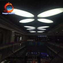 Feuille de membrane en plastique pvc   Décors intérieurs modernes, plafond à chute deau, luminosité
