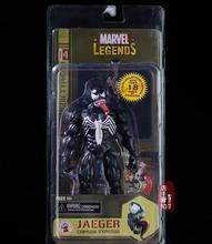"""7 """"jaeger venom pvc modelo figura brinquedos"""