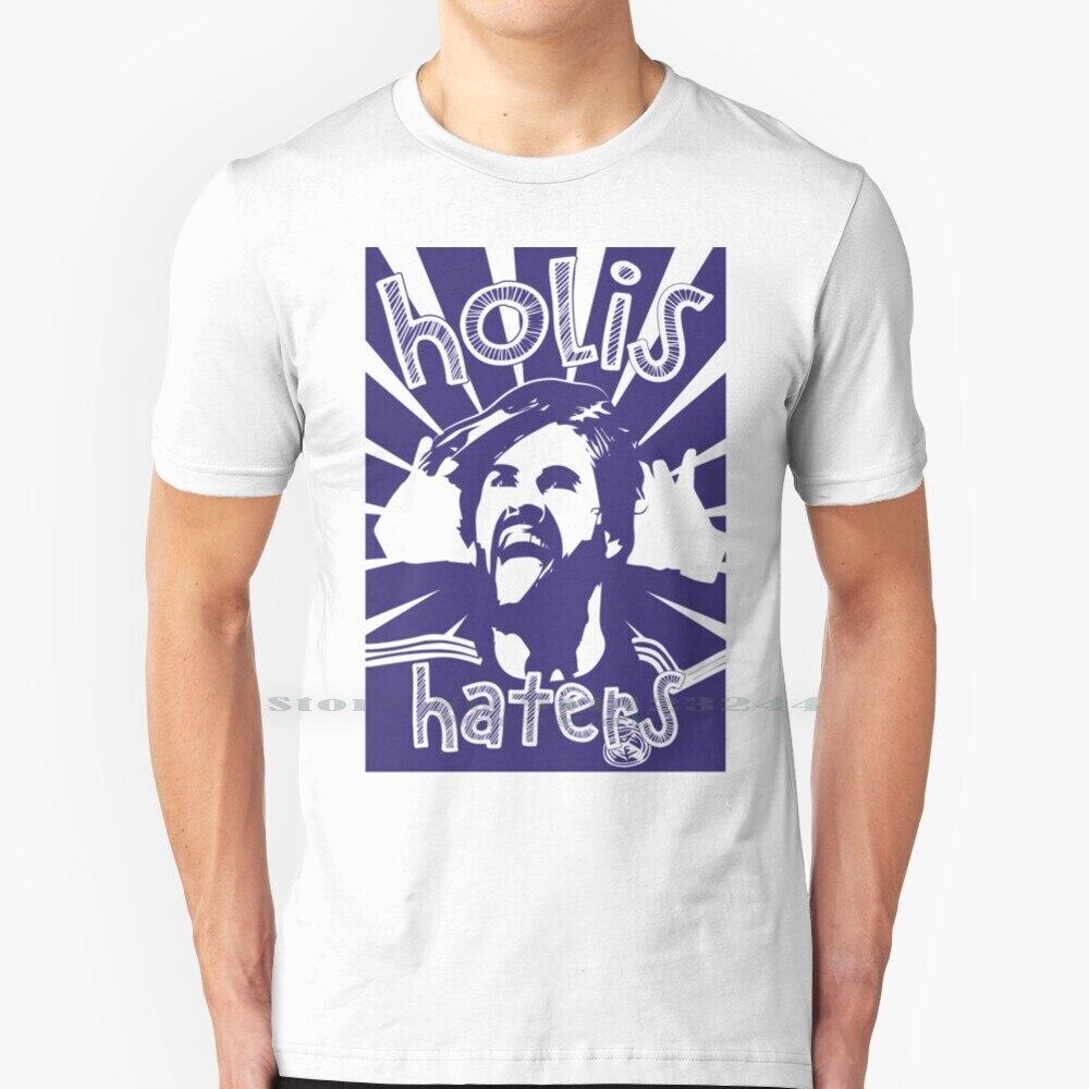 Holis Haters-Camiseta azul para ropa ligera, 100% de algodón puro, Isco, Isco,...