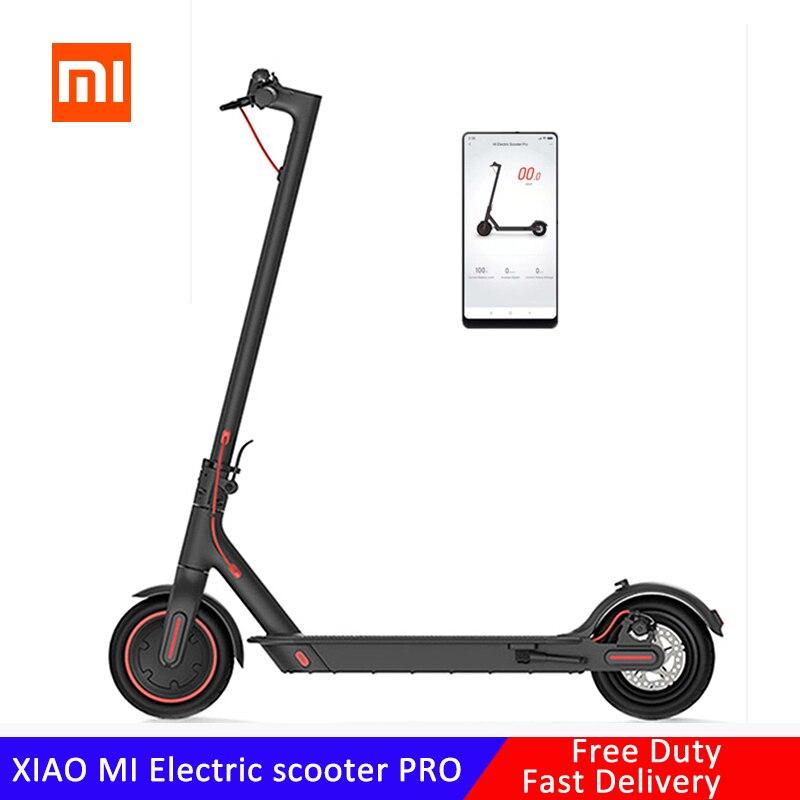 【EU stock】 Xiaomi электрический самокат Сверхлегкий складной двухслойный умный e