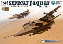 KittyHawk KH80106 1:48 مقياس Sepecat جاكوار GR.1 / GR.3 طائرة الطائرات العسكرية لعب الطائرات تجميع البلاستيك بناء أطقم منمذجة