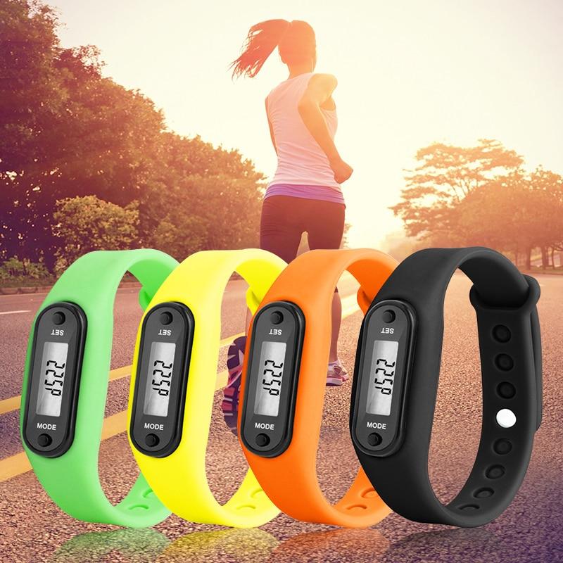 Reloj deportivo inteligente 2019, monitor de Fitness, monitor de pasos, monitor Digital LCD, podómetro, contador de calorías al caminar