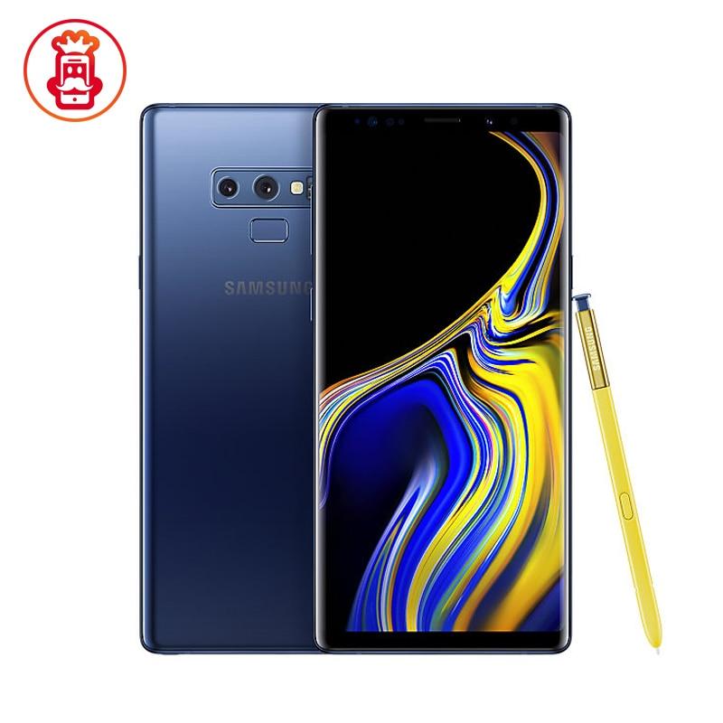"Original Samsung Galaxy Note9 Nota 9 N960U N960U1 desbloqueado teléfono móvil Snapdragon 845 Octa Core 6,4 ""Dual 12MP RAM 128GB NFC"