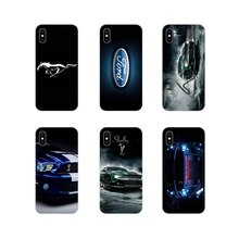 For Apple iPhone X XR XS 11Pro MAX 4S 5S 5C SE 6S 7 8 Plus ipod touch 5 6 Love Ford Mustang Logo Acc