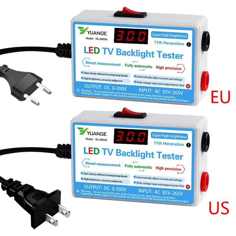 Home LED TV Backlight Tester Output 0-300V Lamp Bead LCD Digital Display Strips Test Instrument