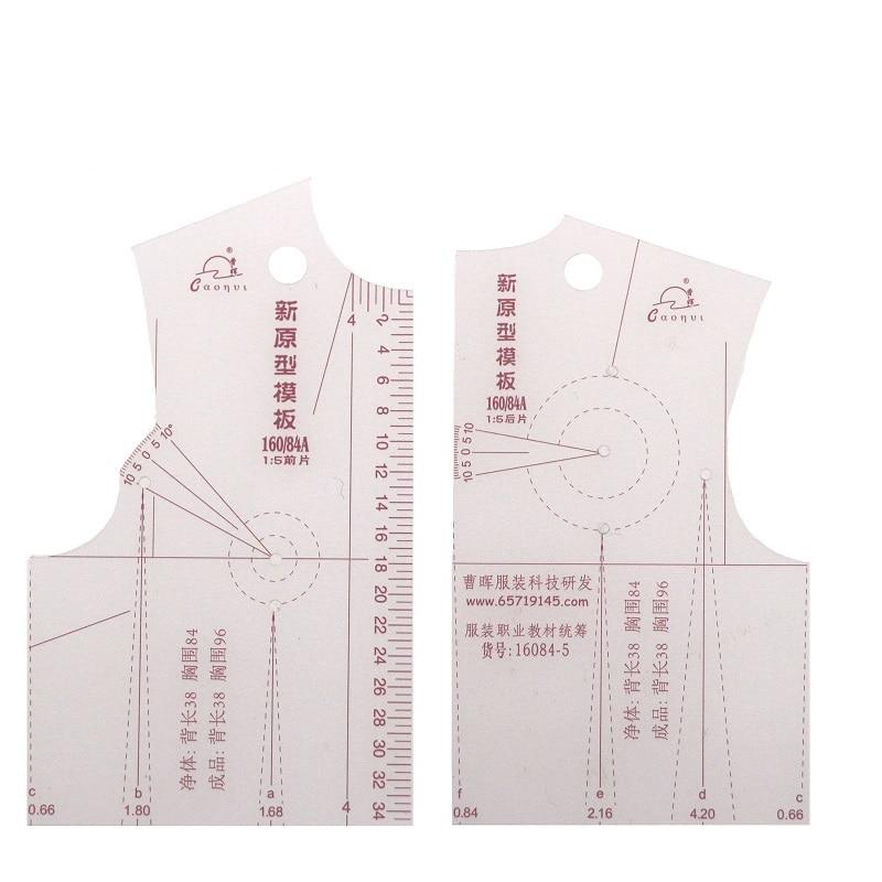 Горячая новинка 1:5 модная дизайнерская линейка ткани дизайн школьника Teching Apparel рисунок Templete одежды прототип линейки