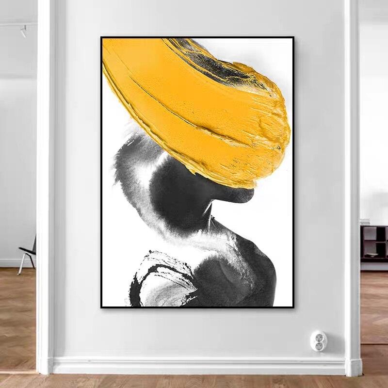 2020 Pinturas Modernas 100% pintado a mano abstracto pintura al óleo de paisaje en lona para vivir decoración para habitación No enmarcado arte