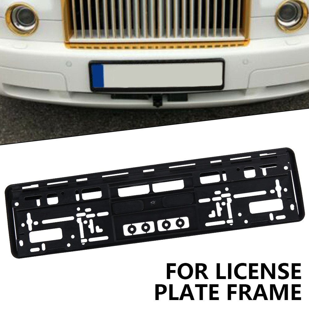 Brand New Auto European License Number Plate Frame Tag Holder Mount Car License Plate Frames