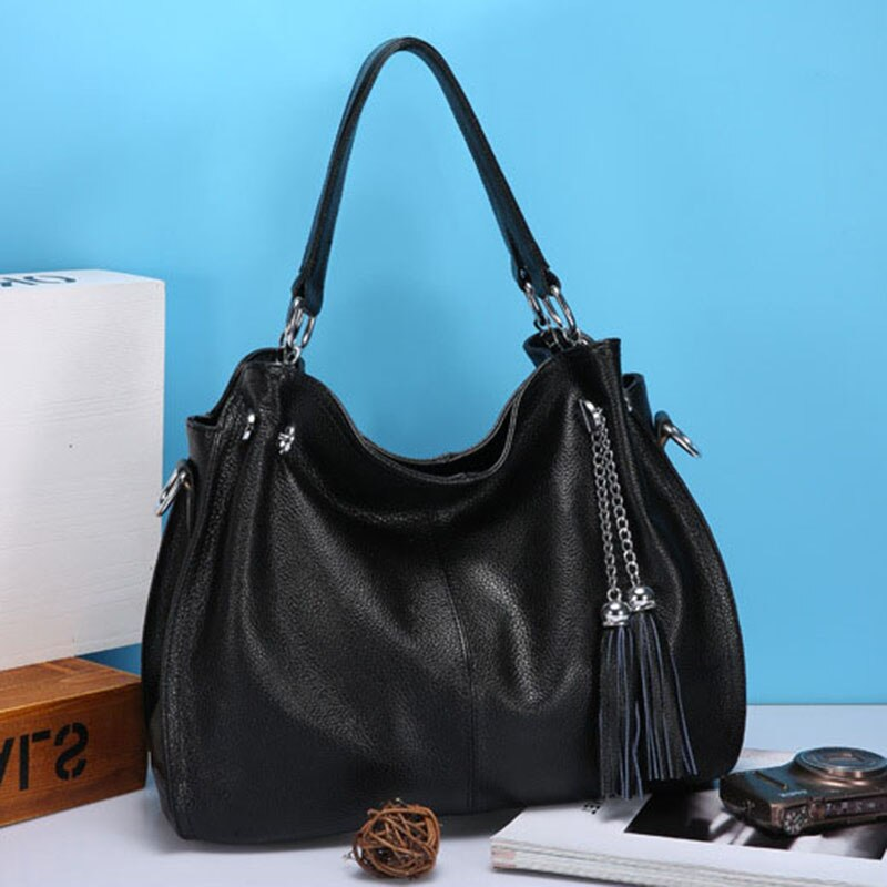 Women top handbags genuine leather high-quality real leather brand luxury large messenger bags luxury shoulder bags fashion