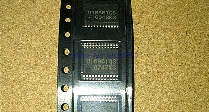 2 sztuk/partia D16861GS SSOP24 D16861 SSOP 16861GS SMD SOP SMD w magazynie