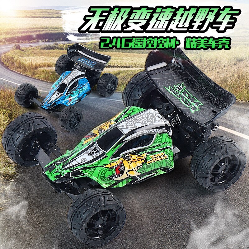 High-speed Mini Shark Stunt Vehicle 2.4G Remote Control Variable Speed Climbing Vehicle Children's Toy Kids Gift