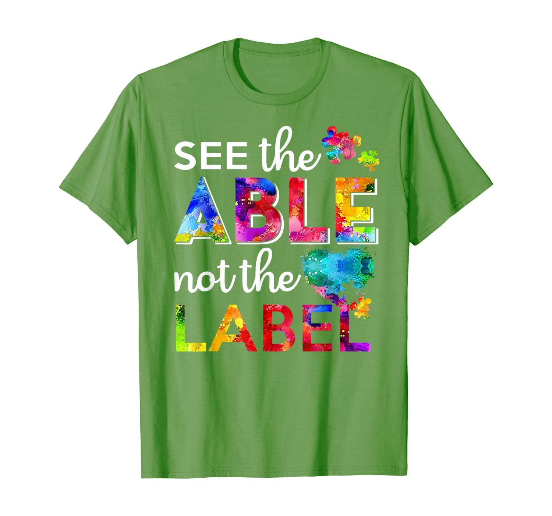 Посмотрите на футболку, не на этикетке