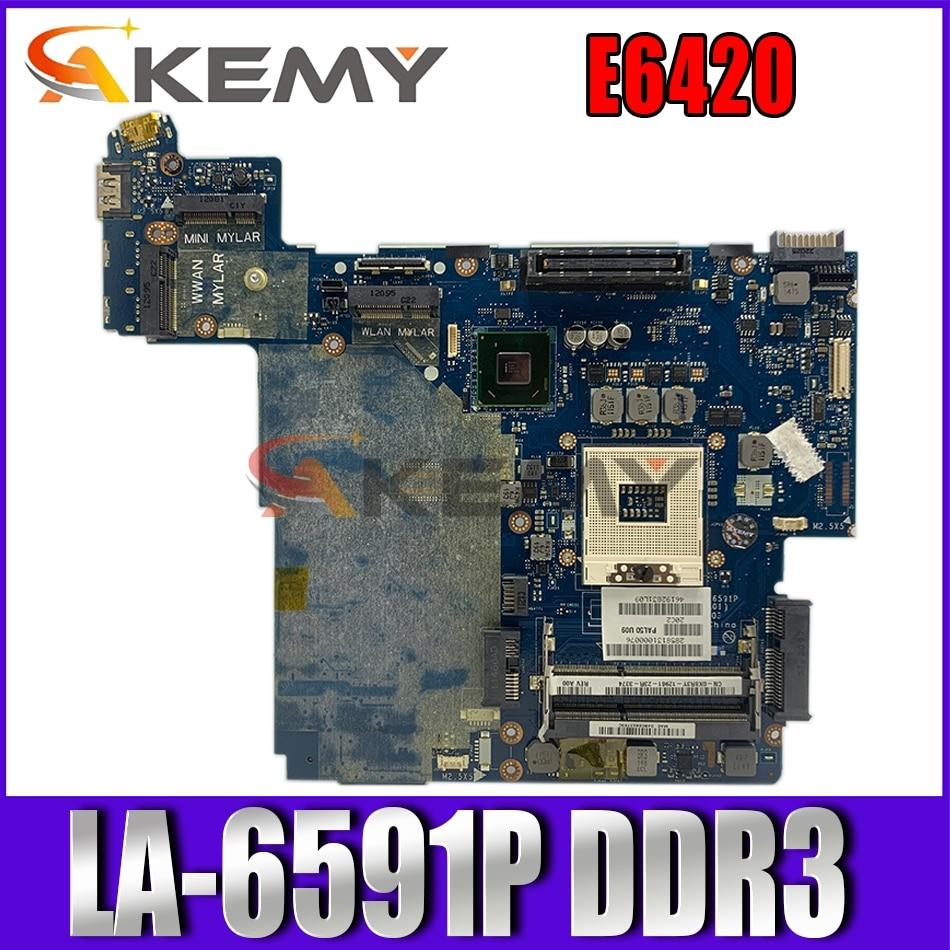 Original para DELL Latitude E6420 HM67 placa base de computadora portátil CN-07TR3J...