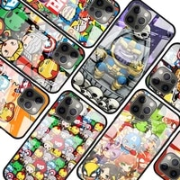 marvel cartoon cute for apple iphone 12 pro max mini 11 pro xs max x xr 6s 6 7 8 plus luxury tempered glass phone case