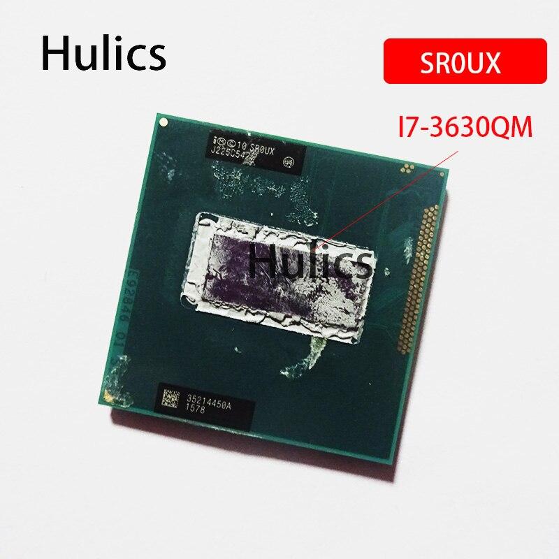 Hulics Original Intel Core i7 i7-3630QM 3630QM SR0UX Processador de 2.4 GHz Quad-Core Oito-CPU Fio 6M 45W Soquete G2 / rPGA988B