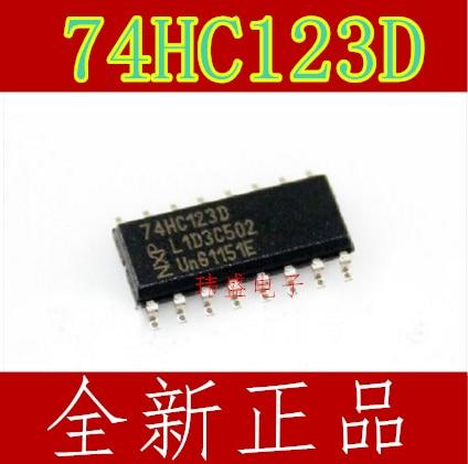 10 Uds 74HC123 74HC123D SOP-16