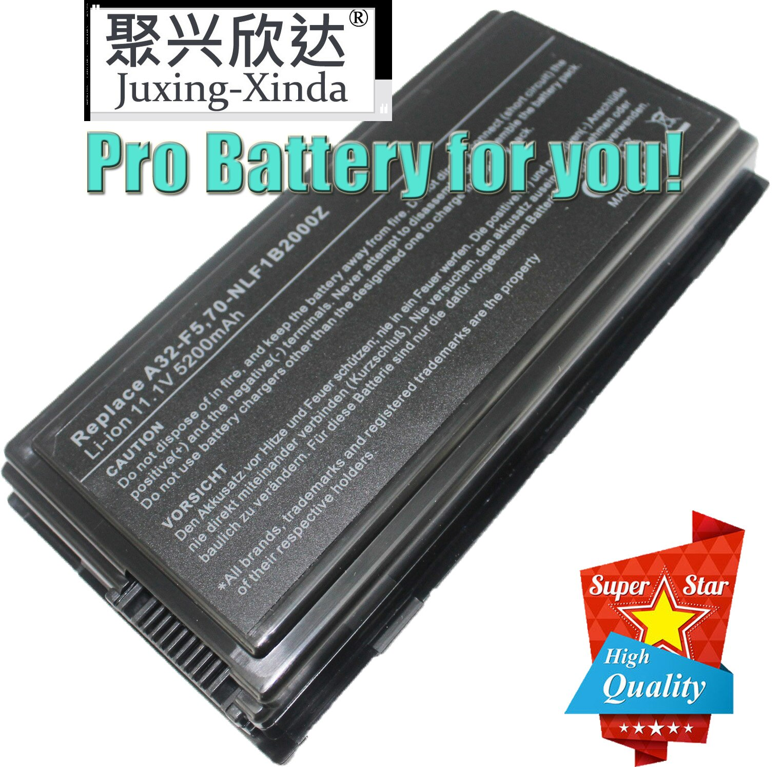 Laptop battery for ASUS F5N F5R F5RL F5S F5SL Notebook PC A32-F5 For Asus X50 X50C X50GL X50M X50N X50R X50RL X50SL X5 apexway 4400mah 11 1v 6cell laptop battery for asus a32 f5 x50v x50vl x59 x59sr f5 f5v f5 f5ri f5sl f5sr x50r x50rl x50sl x50sr