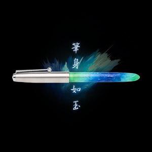 JINHAO Fountain Pen 911/616/51A Acrylic Fountain Pen Semitransparent PMMA Plexiglass Fountain Pen