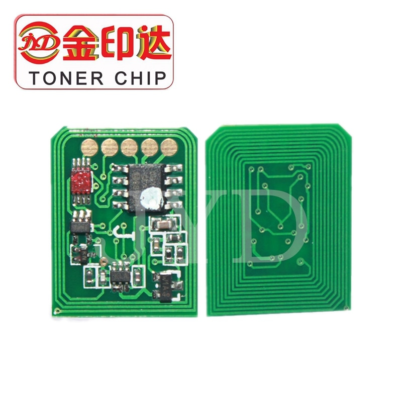 8PCS 3300 3400 laser printer cartridge chip reset compatible for OKI C3300 C3400 toner chip