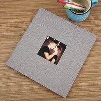 16 Inch 20 Page Self-adhesive Photo Album DIY Antique Wedding Birthday Photo Scrapbook Photo Album Custom Memory Photo Album